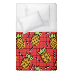 Fruit Pineapple Red Yellow Green Duvet Cover (single Size)