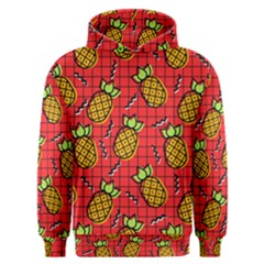 Fruit Pineapple Red Yellow Green Men s Overhead Hoodie