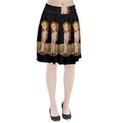 The Birth Of Venus Pleated Skirt