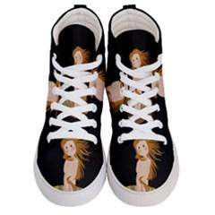 The Birth Of Venus Women s Hi Top Skate Sneakers