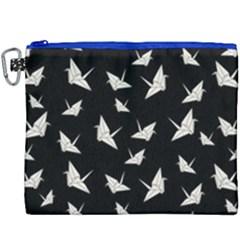 Paper Cranes Pattern Canvas Cosmetic Bag (xxxl)