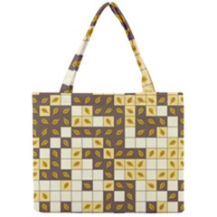 Autumn Leaves Pattern Mini Tote Bag