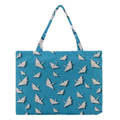 Paper Cranes Pattern Medium Tote Bag