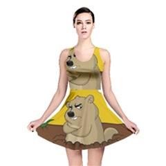 Groundhog Day Reversible Skater Dress