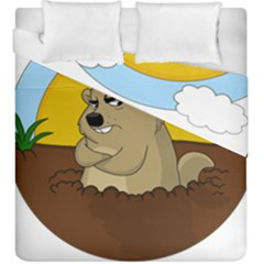 Groundhog Day Duvet Cover Double Side (king Size)