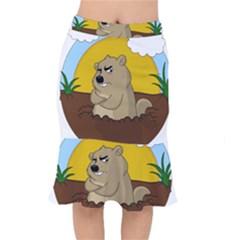 Groundhog Day Mermaid Skirt