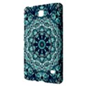Green Blue Black Mandala  Psychedelic Pattern Samsung Galaxy Tab 4 (7 ) Hardshell Case  View2