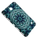 Green Blue Black Mandala  Psychedelic Pattern Samsung Galaxy Tab 4 (7 ) Hardshell Case  View5