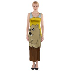Groundhog Day Fitted Maxi Dress