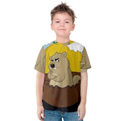 Groundhog Day Kids  Cotton Tee