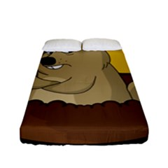 Groundhog Day Fitted Sheet (full/ Double Size)