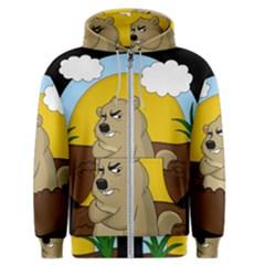 Groundhog Day Men s Zipper Hoodie