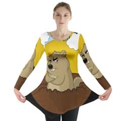 Groundhog Day Long Sleeve Tunic