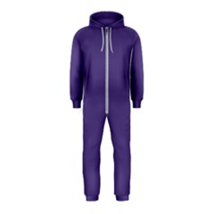Color Of The Year 2018   Ultraviolet   Pure&basic Hooded Jumpsuit (kids)