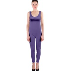 Color Of The Year 2018   Ultraviolet   Pure&basic Onepiece Catsuit