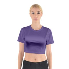 Color Of The Year 2018   Ultraviolet   Pure&basic Cotton Crop Top