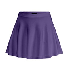 Color Of The Year 2018   Ultraviolet   Pure&basic Mini Flare Skirt