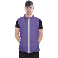 Color Of The Year 2018   Ultraviolet   Pure&basic Men s Puffer Vest