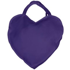 Color Of The Year 2018   Ultraviolet   Pure&basic Giant Heart Shaped Tote