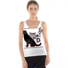 Year Of The Dog   Chinese New Year Tank Top