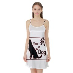 Year Of The Dog   Chinese New Year Satin Night Slip