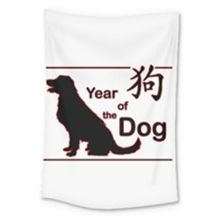 Year Of The Dog   Chinese New Year Large Tapestry