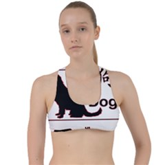 Year Of The Dog   Chinese New Year Criss Cross Racerback Sports Bra