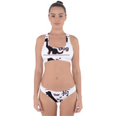 Year Of The Dog   Chinese New Year Cross Back Hipster Bikini Set