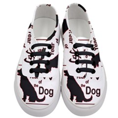 Year Of The Dog   Chinese New Year Women s Classic Low Top Sneakers