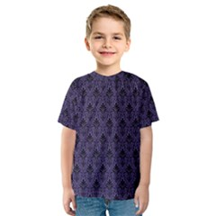 Color Of The Year 2018   Ultraviolet   Art Deco Black Edition Kids  Sport Mesh Tee