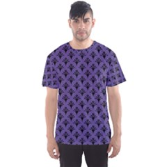 Color Of The Year 2018   Ultraviolet   Art Deco Black Edition  Men s Sports Mesh Tee