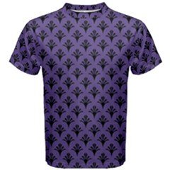 Color Of The Year 2018   Ultraviolet   Art Deco Black Edition  Men s Cotton Tee