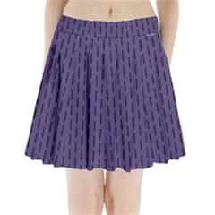 Color Of The Year 2018   Ultraviolet   Art Deco Black Edition Pleated Mini Skirt