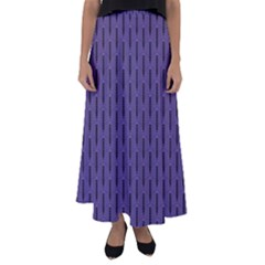Color Of The Year 2018   Ultraviolet   Art Deco Black Edition Flared Maxi Skirt