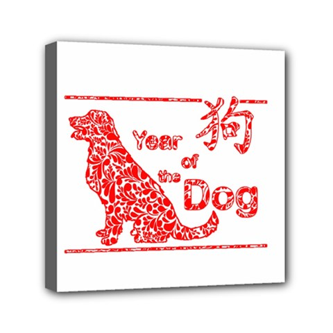 Year Of The Dog   Chinese New Year Canvas Travel Bag