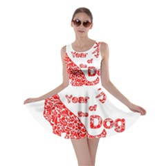 Year Of The Dog   Chinese New Year Skater Dress