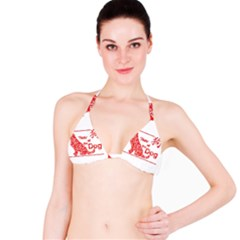 Year Of The Dog   Chinese New Year Bikini Top