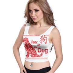 Year Of The Dog   Chinese New Year Crop Top