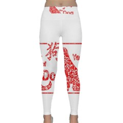 Year Of The Dog   Chinese New Year Classic Yoga Leggings
