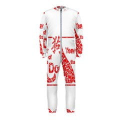 Year Of The Dog   Chinese New Year Onepiece Jumpsuit (kids)