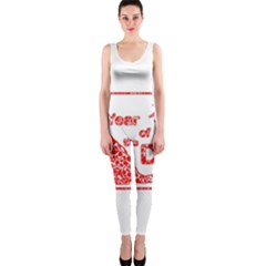 Year Of The Dog   Chinese New Year Onepiece Catsuit