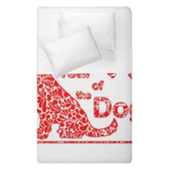 Year Of The Dog   Chinese New Year Duvet Cover Double Side (single Size)