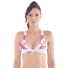 Year Of The Dog   Chinese New Year Plunge Bikini Top