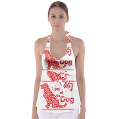 Year Of The Dog   Chinese New Year Babydoll Tankini Top
