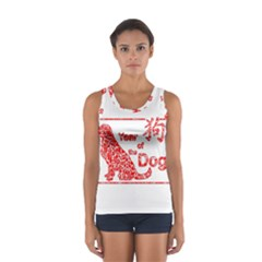 Year Of The Dog   Chinese New Year Sport Tank Top