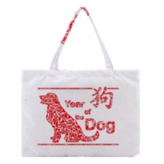 Year Of The Dog   Chinese New Year Medium Tote Bag