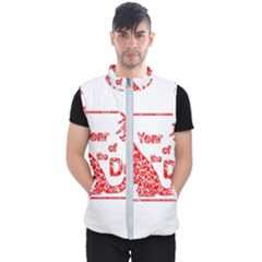 Year Of The Dog   Chinese New Year Men s Puffer Vest