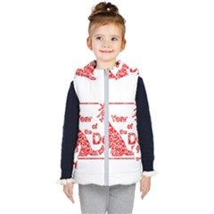 Year Of The Dog   Chinese New Year Kid s Puffer Vest