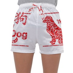 Year Of The Dog   Chinese New Year Sleepwear Shorts