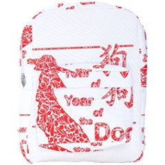 Year Of The Dog   Chinese New Year Full Print Backpack